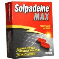 Solpadeine Max Tablets(30)