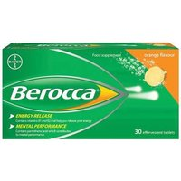 Berocca Orange 30 Effervescent tablets