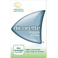 Nicorette Gum 2mg Original low Strength (105)