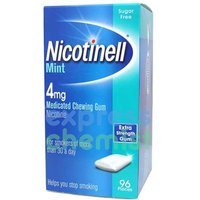 Image of Nicotinell MINT Chewing Gum Strong 4mg x96 pieces