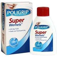 Poligrip SUPER Wernets Denture Fixative Powder 50g