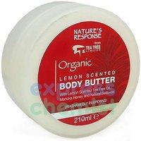 Natures Response Organic Body Butter 210ml Tub