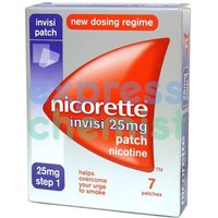 Nicorette Invisi-Patch 25mg Step 1 (7 patches)