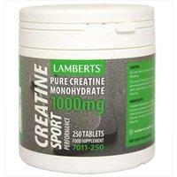 Lamberts Pure Creatine Sport 1000MG 7011-250