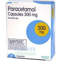 Paracetamol Capsules 500mg 32