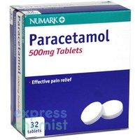 Numark Paracetamol 500mg Tablets (32)