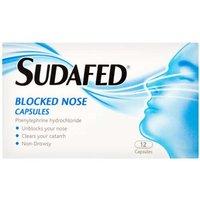 Sudafed Blocked Nose Capsules 12