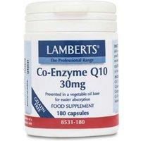Lamberts Co-Enzyme Q10 30mg (180)