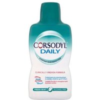 Corsodyl Daily Defence Alcohol Free Mouthwash 500ml