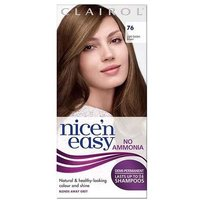 Image of Clairol Nice 'n Easy Demi-Permanent 24 Washes Hair Colour 76 Light Golden Brown