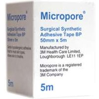 Micropore Surgical Synthetic Tape 50mm x 5m