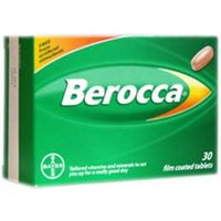 Berocca Film Coated 30 TABLETS
