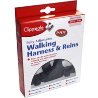 Clippasafe Fully Adjustable Walking Harness And Reins