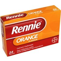 Rennie Orange Tablets 24