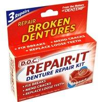 Dentemp Denture Repair Kit Repair it 3