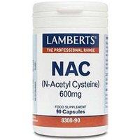 Lamberts NAC 600mg Food Supplement 90 Capsules