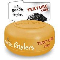 Schwarzkopf Got2B iStylers Texture Clay 75ml