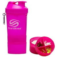 SmartShake Neon Pink 20oz Shaker