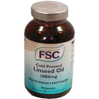 FSC Cold Pressed Linseed Oil 1000mg