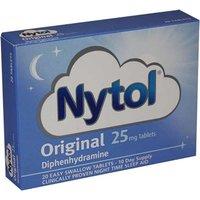 Nytol Original 25mg Tablets 20