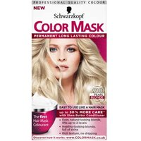 Image of Schwarzkopf color mask 910 pearl blonde level 3 permanent hair colour