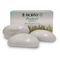 Morny Natures French Fern Fine English Soap 3 x 100g