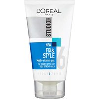 L'Oreal Studio Line Fix & Style multi-vitamin Gel Very Strong Hold 150ml