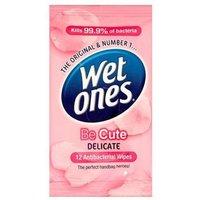 Wet Ones Be Cute Antibacterial Wipes 12