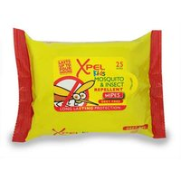 Xpel Kids mosquito and insect wipes 25