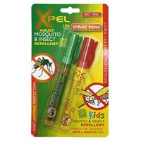 Xpel Mosquito and insect repellent and bite and sting relief spray pens 100 sprays