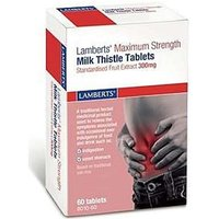 Lamberts Milk Thistle Maximum Strength Tablets 300mg