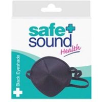 Safe and Sound Black Eyeshade x 1