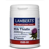 Lamberts Milk Thistle 3000mg 60 Tablets 8589-60