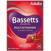 Bassetts Multivitamins Adults Raspberry & Pomegranate Soft Chewies 30
