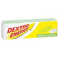 Dextro Energy Lemon Plus Vitamin C 14 Dextrose Tablets 47g