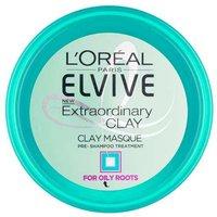 LOreal Elvive Extraordinary Clay Masque Pre Shampoo Treatment 150ml