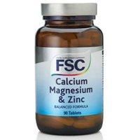FSC Calcium Magnesium & Zinc 90 Tablets