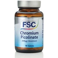 FSC Chromium Picolate 200µg Chromium 90 Tablets