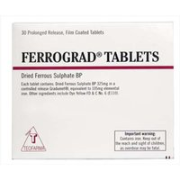 Ferrograd Tablets 30 Prolonged Release Tablets