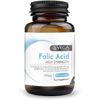 Vega Folic Acid 400&#956 90 caps