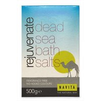 Navita Rejuvenate Dead Sea Bath Salts 500g
