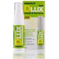 BetterYou Dlux 3000iu Vitamin D Oral Spray-15ml