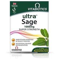 Vitabiotics Ultra Sage Super Strength 1000mg Extract 30 Tablets