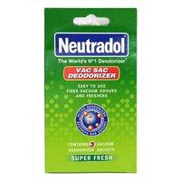 Neutradol Vac Sac Deodorizer 3 Sachets