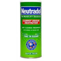 Neutradol Carpet Odour Destroyer Super Fresh Vac' N Clean 350g