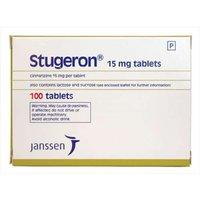 Stugeron 15mg 100 Tablets