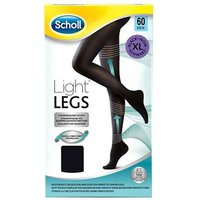 Scholl Light Legs Tights Black 20 Denier Extra Large 1 Pair