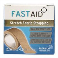 Fast Aid Fabric Strapping 2.5cm X 4.5m