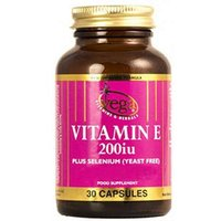 Vega Vitamin E 200Iu 30 Capsules