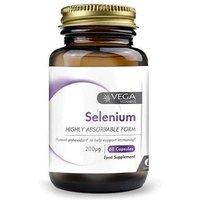 Vega Selenium 200µg 60 Capsules